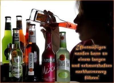 Alkohol und Party