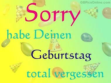 Geburtstag Nachtraglich Gb Pics Gb Bilder Gastebuchbilder