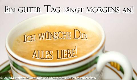 Guten Morgen 18571 Gb Pics Gb Bilder Gästebuchbilder