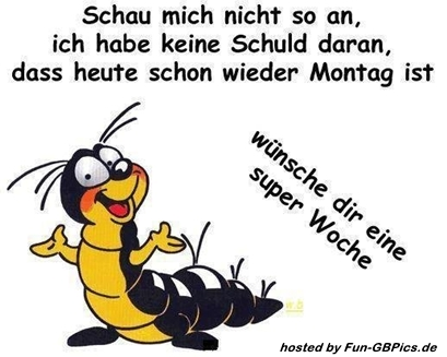 Whatsapp Montag Lustig