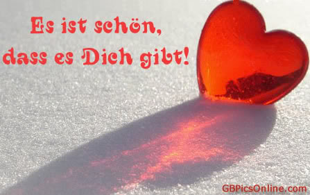 Schön, Dass Es Dich Gibt 8046   GB Pics, GB Bilder, Gästebuchbilder,  Facebook Bilder, Google+ Bilder, Jappy Bilder